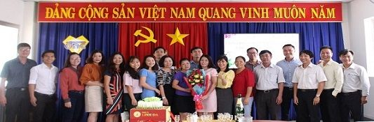 Tổ chức sinh nhật cho Đoàn viên công đoàn trong tháng 11/2018