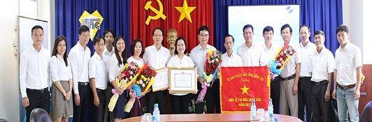 Lễ đón nhận cờ, bằng khen năm 2017 của UBND tỉnh Đồng Nai và Tổng công ty Sonadezi