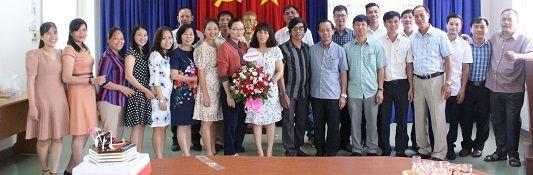 Tổ chức sinh nhật cho đoàn viên công đoàn có ngày sinh trong Quý IV năm 2020