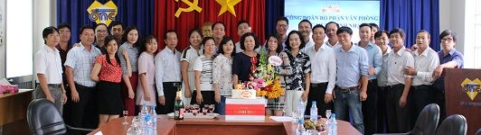 Tổ chức sinh nhật cho Đoàn viên công đoàn trong tháng 8/2018